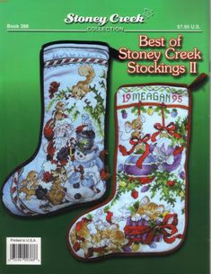"""ru / tymannost - Альбом """"Book - 388 - Best of Christmas Stockings II"""" Embroidered Christmas Stockings, Cross Stitch Christmas Stockings, Cross Stitch Stocking, Christmas Stocking Pattern, Xmas Stockings, Christmas Cross, Cross Stitching, Cross Stitch Embroidery, Cross Stitch Patterns"""