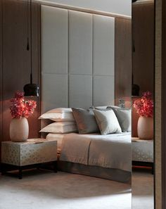 Contemporary Apartment, One Hyde Park - contemporary - Bedroom - London - Helen Green Design