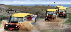 ABC Aruba jeep tour. This excursion is very exciting and extremely adventurous.