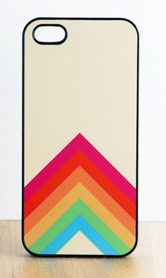 Sharp Rainbow Iphone Case // this is awesome! :)