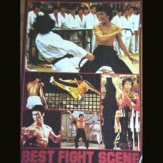 Bruce Lee's Best Fight Scenes Poster  $3.99