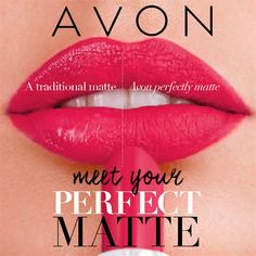 Perfectly Matte Lipstick - Intense colour in one swipe, won't cake or crack, wears hour after hour, 100% matte look with lasting comfort