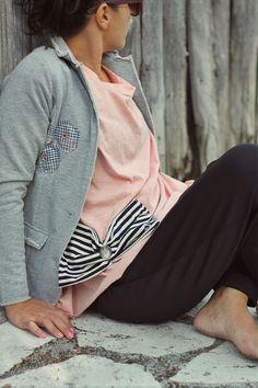 #bows #stripes #jacket #women #clothes #pompom #black #girly #romantic #happy #enjoy #inspired #openback #flowers #vintage #petitboutik
