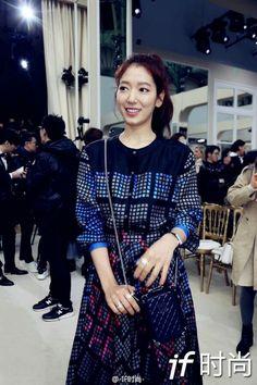 Park Shin Hye @ Chanel Fashion Show