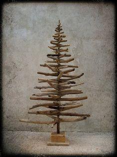 Árbol de Navidad flotante por AtelierboisdAme en Etsy