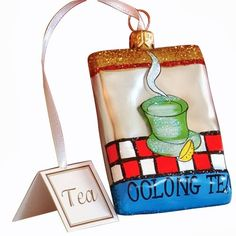 Ornaments to Remember: Oolong Tea Christmas Ornament