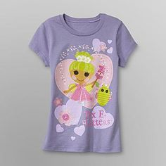MGA Entertainment Inc- -Lalaloopsy Girl's Glitter T-Shirt - Pix E. Flutters
