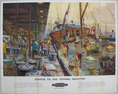 Service to the Fishing Industry, St Andrew's Dock Hull, by Jack Merriott
