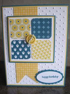 Jackie Hart...B-Day Card....simple