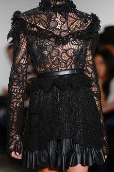 Alexandre Herchcovitch at New York Fashion Week Fall 2014