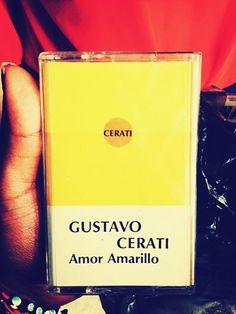 Gustavo Cerati - Amor Amarillo Cassette, su primer trabajo como solista.