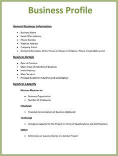 Writing company introduction