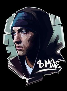 Famous Rap Stars illustrated by Russian Artist Viktor Miller-Gausa (Notorious…
