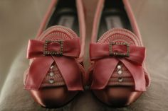 Pink Ruffle Marie Antoinette Shoes