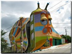 The Snail House in Sofia Bulgaria. Our tips for things to do in Sofia: http://www.europealacarte.co.uk/blog/2012/06/01/what-to-do-sofia/