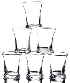 our everyday 'wine glasses'  simon pearce tumbler -