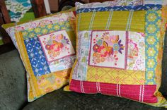 i love these pillows and this mama's blog!!!