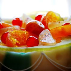 The candied #fruit is an essential ingredient to decorate the most famous #sicilian #cake, the #cassata, because also presentation is important! To taste this joy in #Trapani have a look at bebtrapanigranveliero.it - bebtrapanilveliero.it