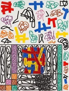 Jonathan Lasker, The Metaphysics of Mr. Lucky  (2010)