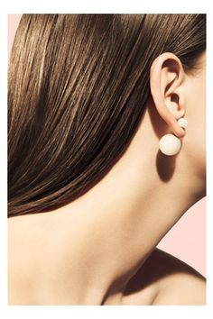 """These New """"Mise En Dior"""" Studs Make A Serious Statement #refinery29"""