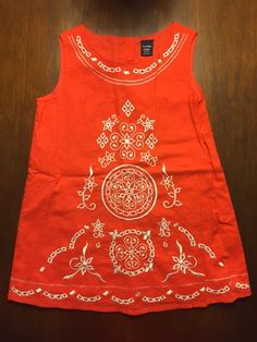 Check out this listing on Kidizen: GAP Red Embroidered Sundress NWT 2 via @kidizen #shopkidizen