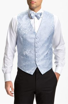 David Donahue Paisley Vest (Online Only) available at #Nordstrom champagne colors #5252014