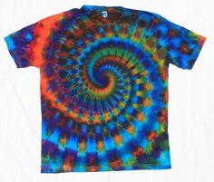 66d9ca02 Size S Tie dye shirt Ice dye 90s grunge tee Gift Crew neck Acid wash shirt  Short sleeve