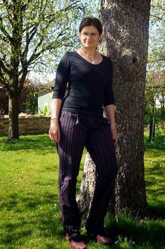 Hose, Trouser, sewing, nähen,  für mich - Mona #SO-Pattern, easy, einfach