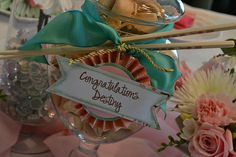 Posh Box Custom Party Decorations | A blessing and a send off!