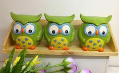 Kinsheng - owl seasoning pot, give a roguish look