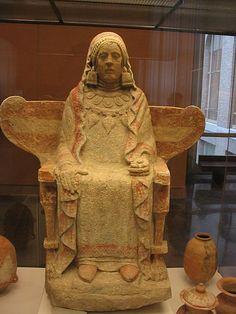 IBERIA - Lady of Baza. Datefirst half of 4th century BC