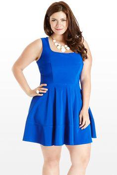 America's Sweetheart Tank Plus Size Dress