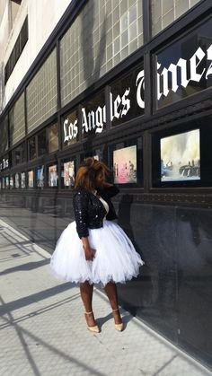 Plus Size Fashion - In My Joi: Glammed Up: Tulle Can Do No Wrong