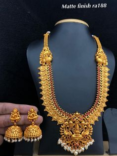 Temple jewellery available at AnkhJewels for booking WhatsApp on Gold Temple Jewellery, Gold Wedding Jewelry, Bridal Jewelry, Gold Jewelry, Jewelery, Gold Bangles Design, Gold Jewellery Design, Antique Jewellery Designs, Antique Jewelry