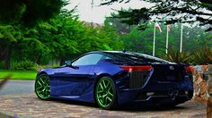lexus lfa colors | Luxury Sports Car Lexus LFA - Best Car Pictures And…