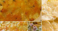 Crockpot scalloped potatoes and ham.