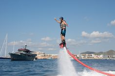 Flyboarding! What an awesome adventure! I cannot describe the sense of exhilaration! If you have an adventurous spirit and the desire to live life to the full an...