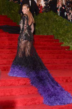 Kim Kardashian Basically Wore a Copy of Beyoncé's 2012 Met Gala Gown   StyleCaster