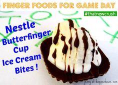 Nestle Butterfinger Ice Cream Bites! #ThatNewCrush #shop #cbias