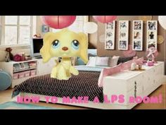 How to make an easy lps cardboard house series part 1 youtube littlest pet shop how to make a rich teenage girls bedroom bathroom set ccuart Choice Image
