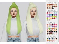 TS4 Hair Retexture 08 - Hallowsims's Dreamer• 90 Colors • Retexture • Thumbnail • Standalone The beautiful Mesh is by Hallowsims, please download here! Go here to download my other stuff. #Kalewa or #Kalewa-a So I can see what you do! (Optional of...