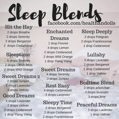 Get ready to get some great sleep with these diffusers blends. #doterra #essentialoils #sleep #diffuserblends