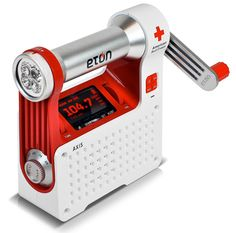 Eton Red Cross Emergency Radio. This sounds cool.