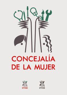 Propuesta Logo Concejalía de la Mujer - Casa de la Cultura de Burjassot