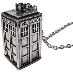 Doctor Who tardis necklace Doctor Who tardis necklace 2o inch chain Jewelry Necklaces