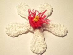 White Cherry Blossom Crochet Pattern
