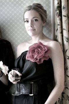 Cherry Healey emulates Carrie........