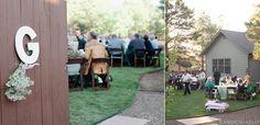 Flagstaff Backyard Wedding - Cameron & Kelly Studio #backyardwedding #flagstaff