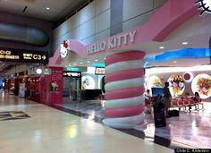 Taoyuan Airport Hello Kitty Terminal