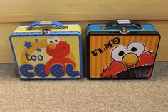 ELMO Tin Lunch Box - New - School - carrying case - children's - Too Cool